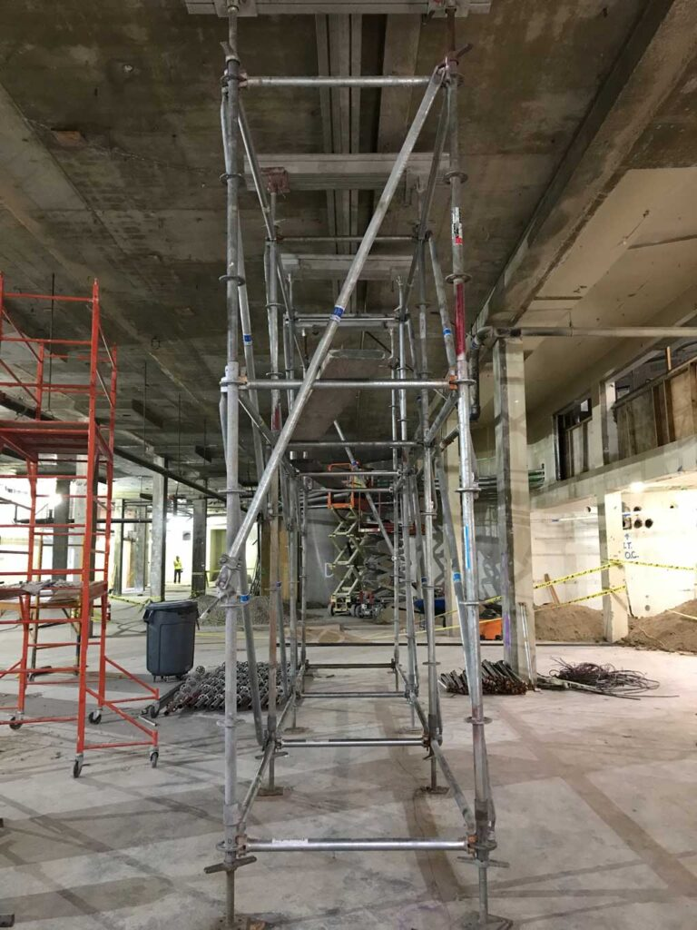 Shoring Services by Major Scaffold Los Angeles