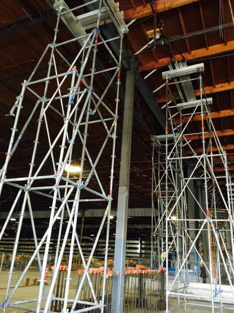 Shoring Solutions by Major Scaffold Los Angeles