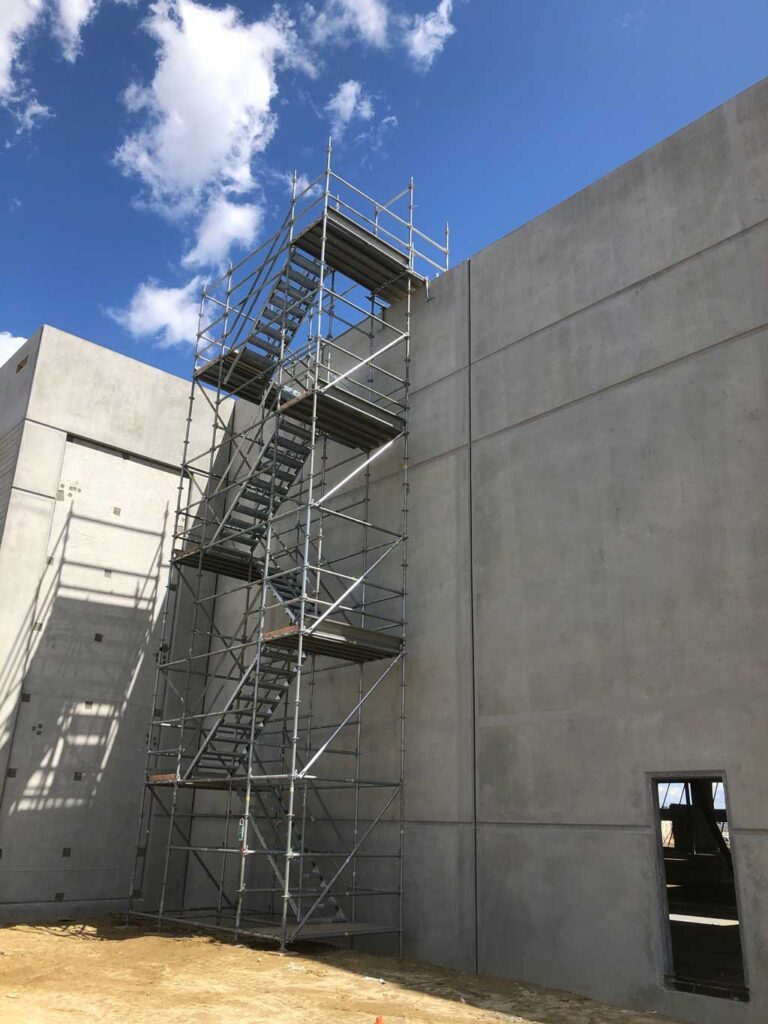 Stair Tower Scaffold by Major Scaffold Los Angeles