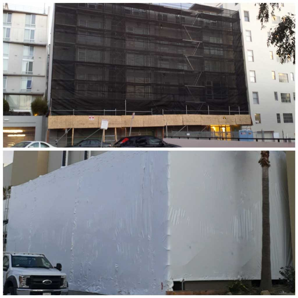 Netting and Shrinkwrap Services Los Angeles